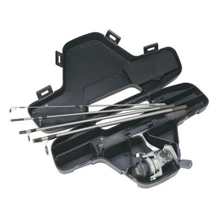Luggage Reel Cases (Daiwa Mini System Minispin Ultralight Spinning Reel and Rod Combo in Hard Carry)
