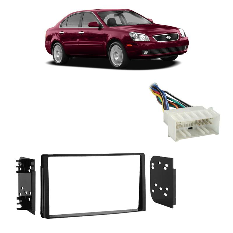 CAR STEREO RADIO DASH INSTALLATION TRIM KIT W// WIRE HARNESS FOR 2009-2012 SEDONA
