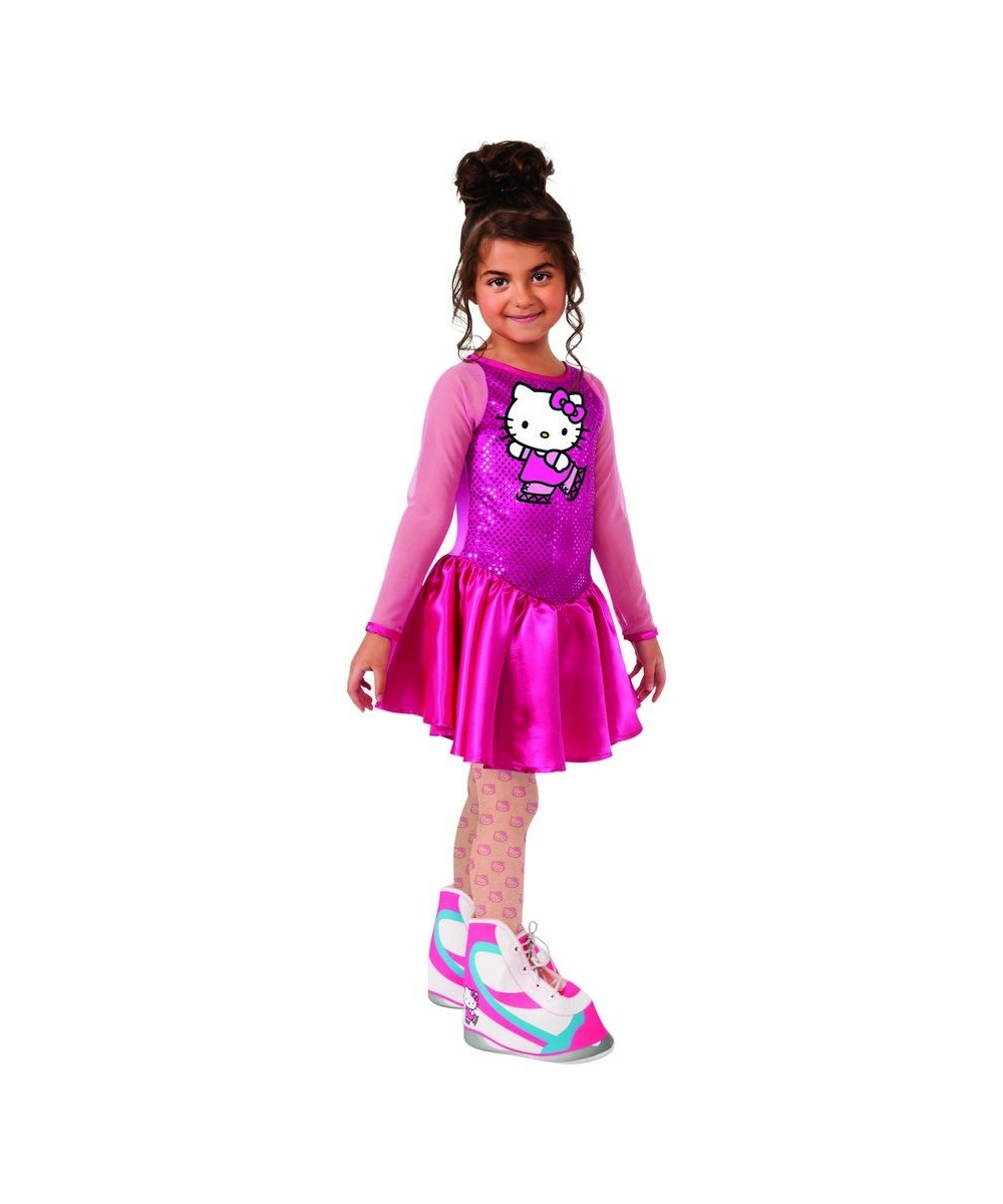 Hello Kitty Figure Skater Girls Costume by