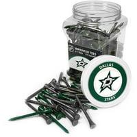 Team Golf NHL Dallas Stars Jar Of 175 Golf Tees