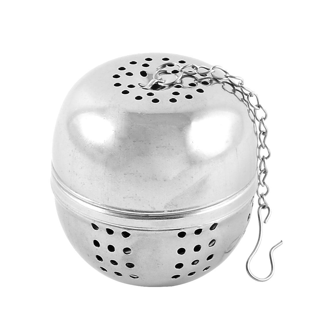"Kitchen Tea Strainer Infuser Ball 2.2"" Dia w Chain"