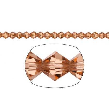Topaz Faceted Bicone (Bicone Crystal Beads Topaz Faceted xilion Crystal For Jewelry Making mm 92Cnt )