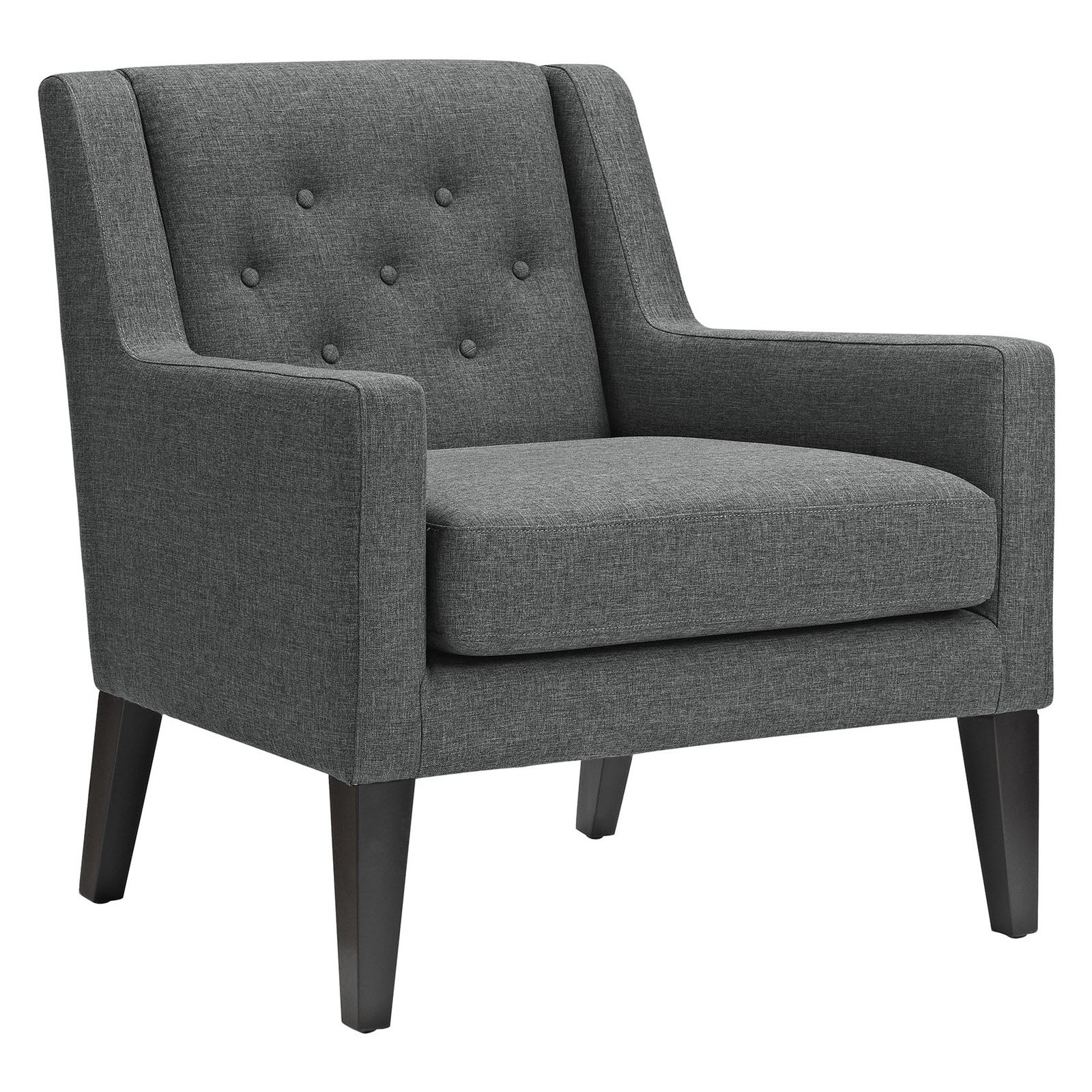 Modway Earnest Upholstered Armchair, Multiple Colors by Modway