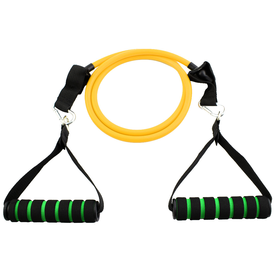 Door Anchor Resistance Tube Strength Training Rope Workout Hose Band Yellow
