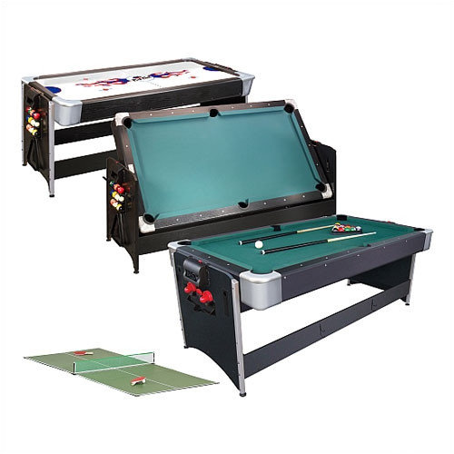 Fat Cat Pockey  3 in 1 6'8'' Game Table
