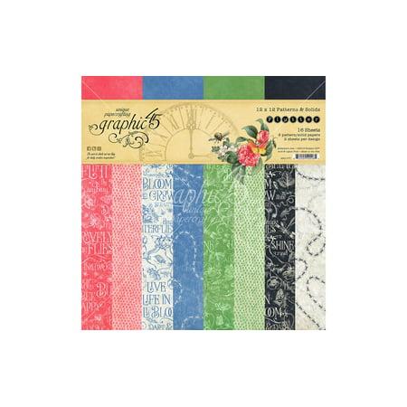 Graphic 45 Flutter Paper Pad 12x12