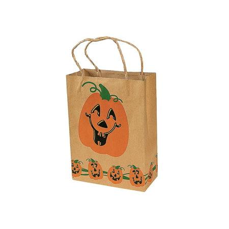 Halloween Brown Paper Bag Decorating (Halloween Brown Paper Gift)