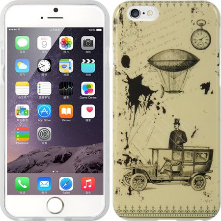 iPhone 6S case, iPhone 6 Case, by Insten and flowers TPU Rubber Candy Skin Case Cover For Apple iPhone 6 6s](Flowers And Candy)