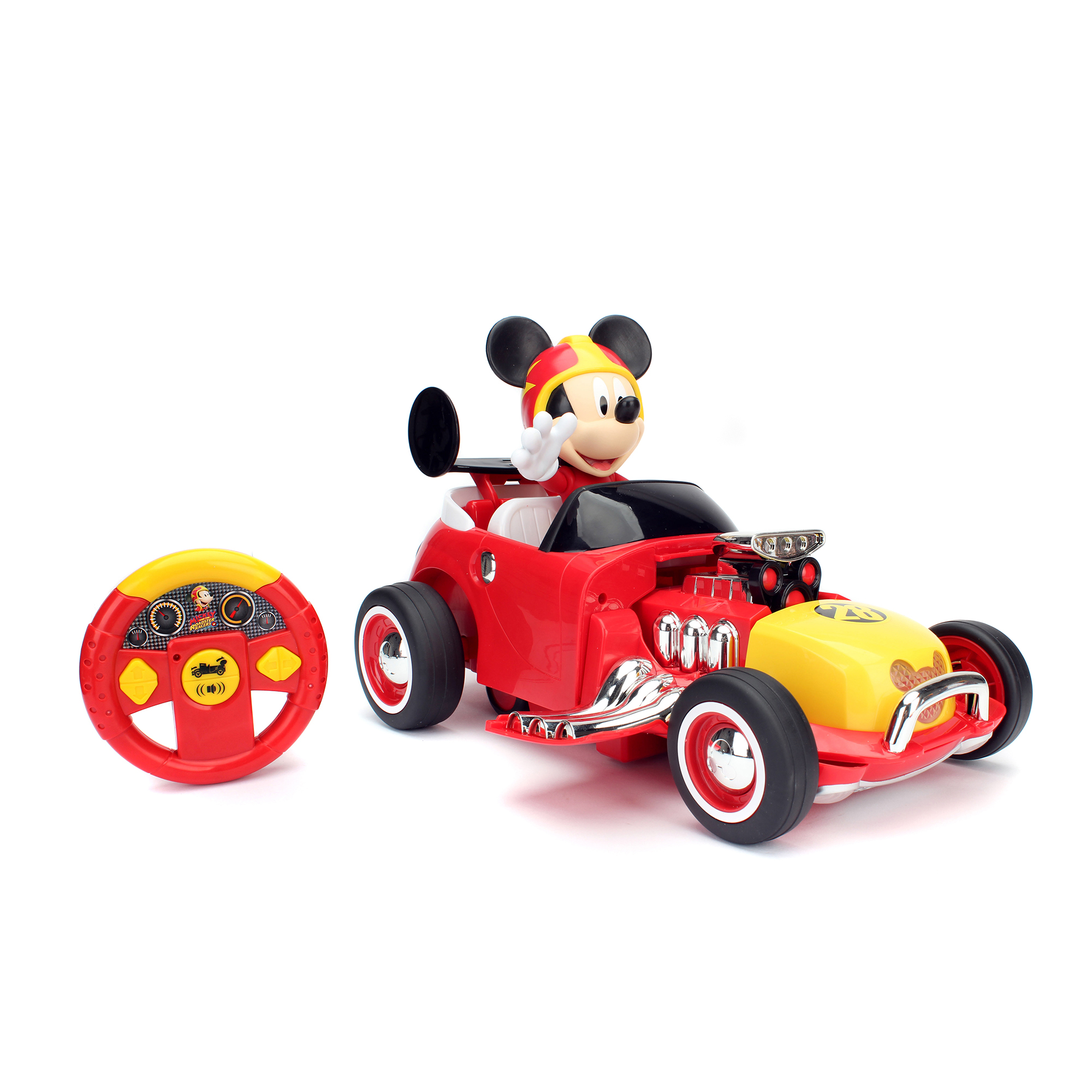 Disney Junior Mickey /& Roadster Racers Mickey Roadster Racer R//C Vehicle