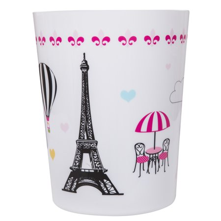 Mainstays Kids Paris Trash Can, 1 - Kids Bathroom Accessories
