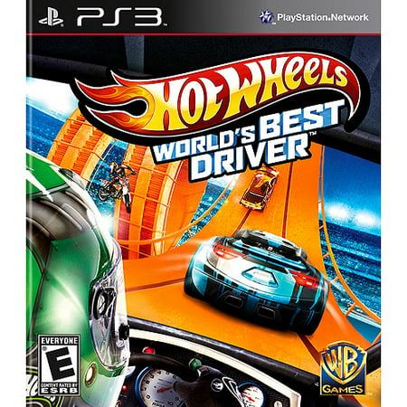 HOT WHEELS:WORLDS BEST DRIVER PS3 ACTION