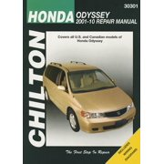 Chilton Total Car Care Honda Odyssey 2001-2010 Repair Manual