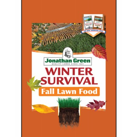Winter Survival Fall Lawn Fertilizer, Covers 5,000 Sq. Ft.