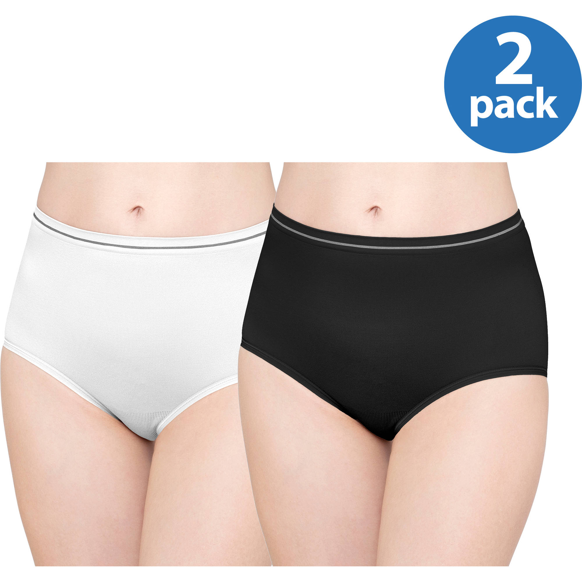 Best Fitting Panty Seamless Brief, 2pk