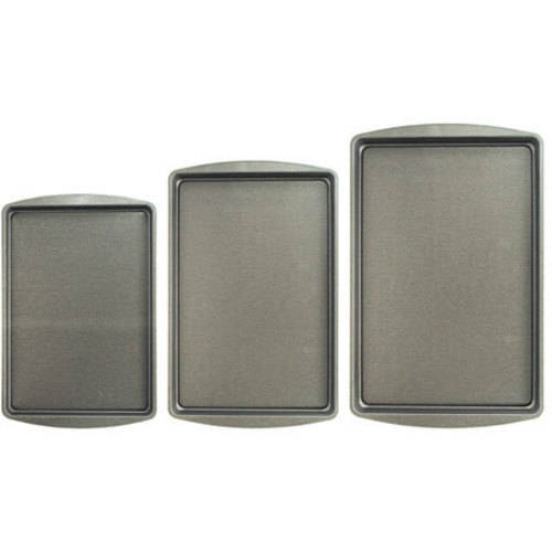 BakerEze 3-Pc. Cookie Pan Set