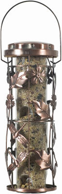 Perky-Pet 1 lb Copper Garden Wild Birdfeeder by woodstream