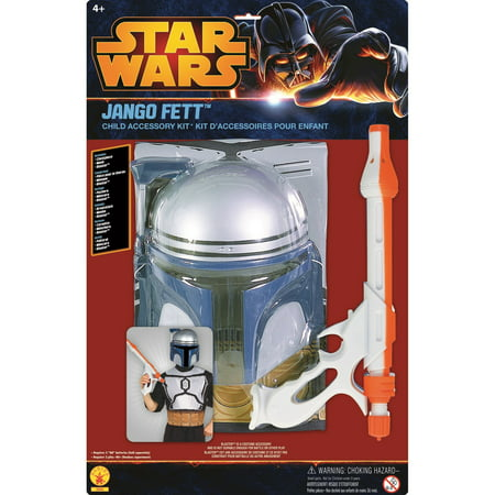 Star Wars Jango Fett Halloween Costume Kit](Jango Fett Deluxe Costume)