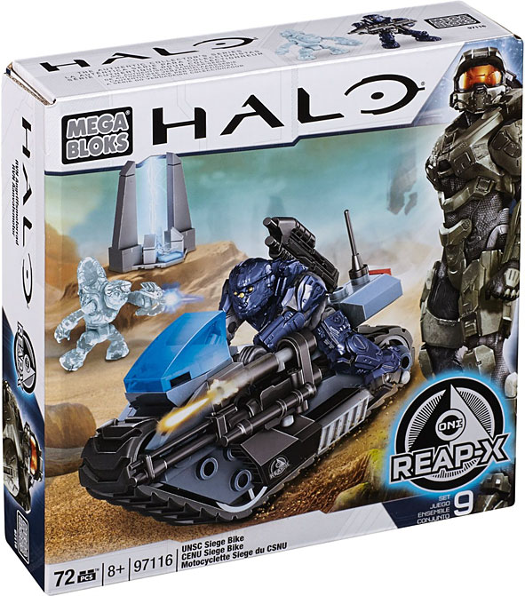 Halo UNSC Siege Bike Set Mega Bloks 97116 by Generic