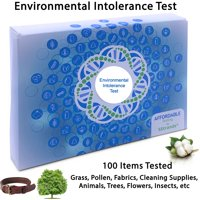 5Strands | Affordable Testing | Environmental Intolerance Test | at Home Hair Analysis Kit | Tests Over 100 Environmental Intolerances | Pollen, Grass, Mold, Fabric | Results in 7-10 Days | 1 Pack