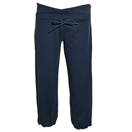 Adidas Womens ClimaLite Capri Pants Navy -
