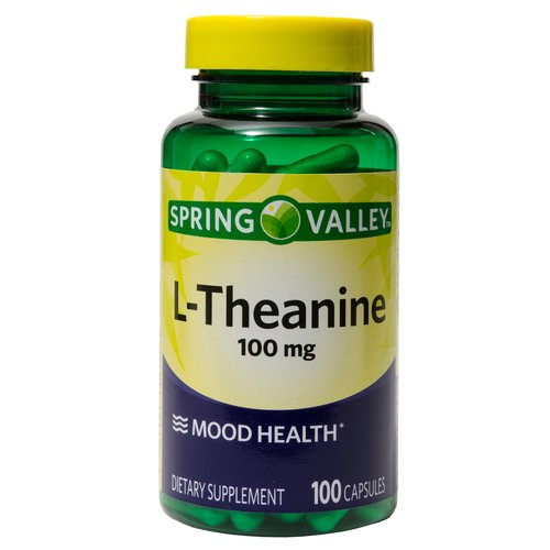 Spring Valley L-Theanine Dietary Supplement, 100mg, 100 count