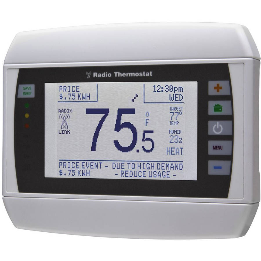 Radio Thermostat CT80 Smart Thermostat (U-SNAP Module Included), No Hub Required