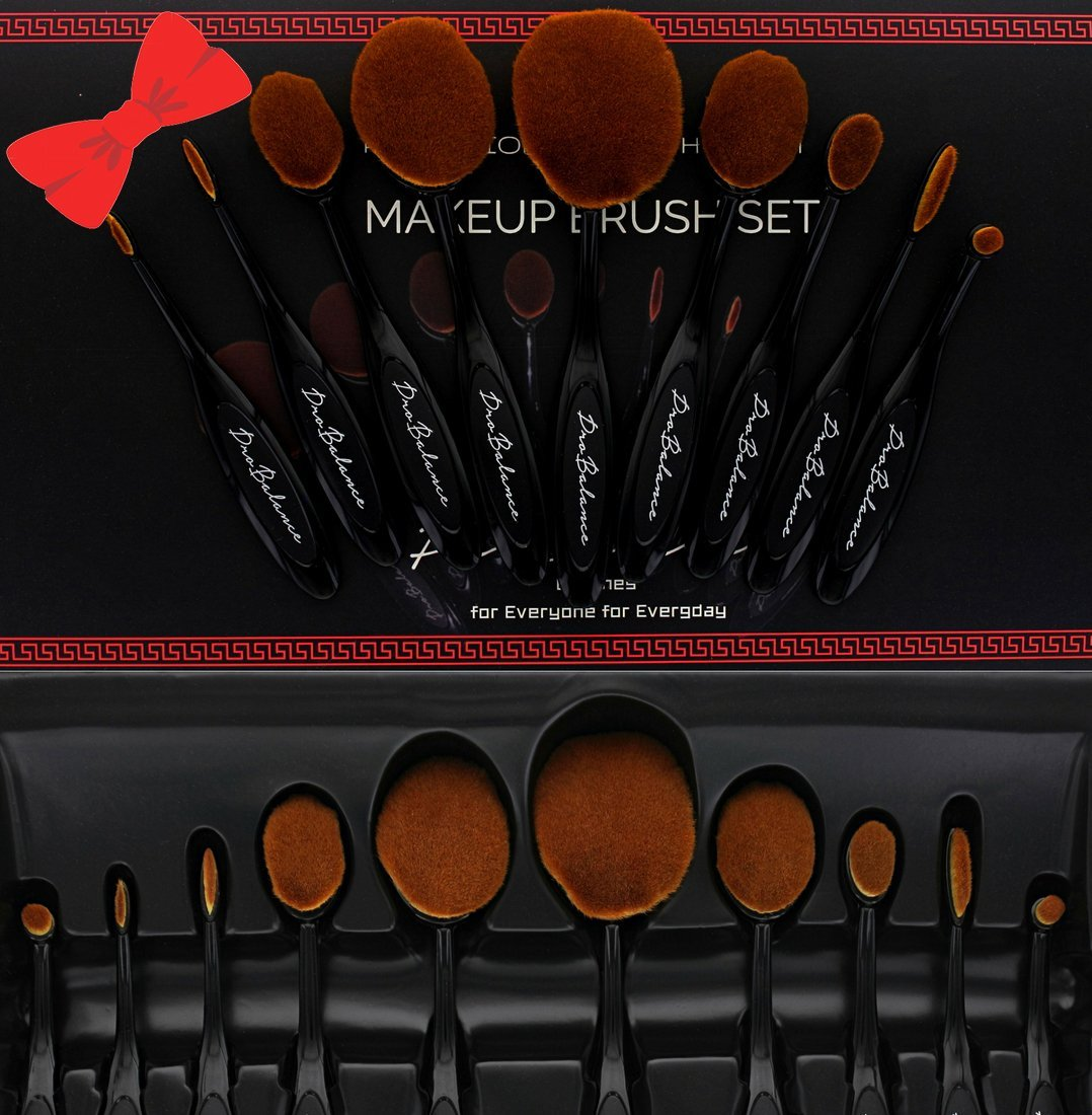 8aefaa4490de Great Gift Idea New Profesional Pro Balance Soft Hair Oval Makeup ...