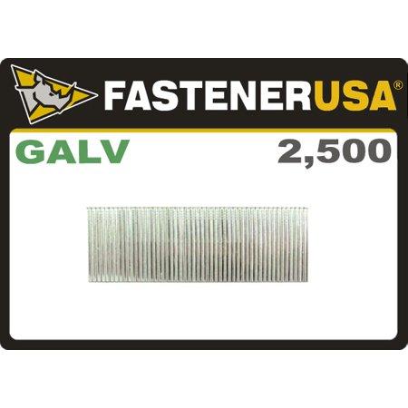 "1"" FINISH NAILS 16 GAUGE GALVANIZED 2.5M Box"