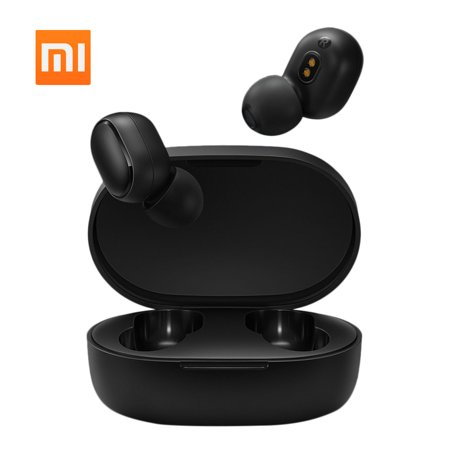 Xiaomi Redmi Airdots Basic 5.0 TWS Earbuds True Wireless Headphones with Mic In-ear Stereo Earphones Twins Sports Headset DSP Noise Reduction AI Control Charging