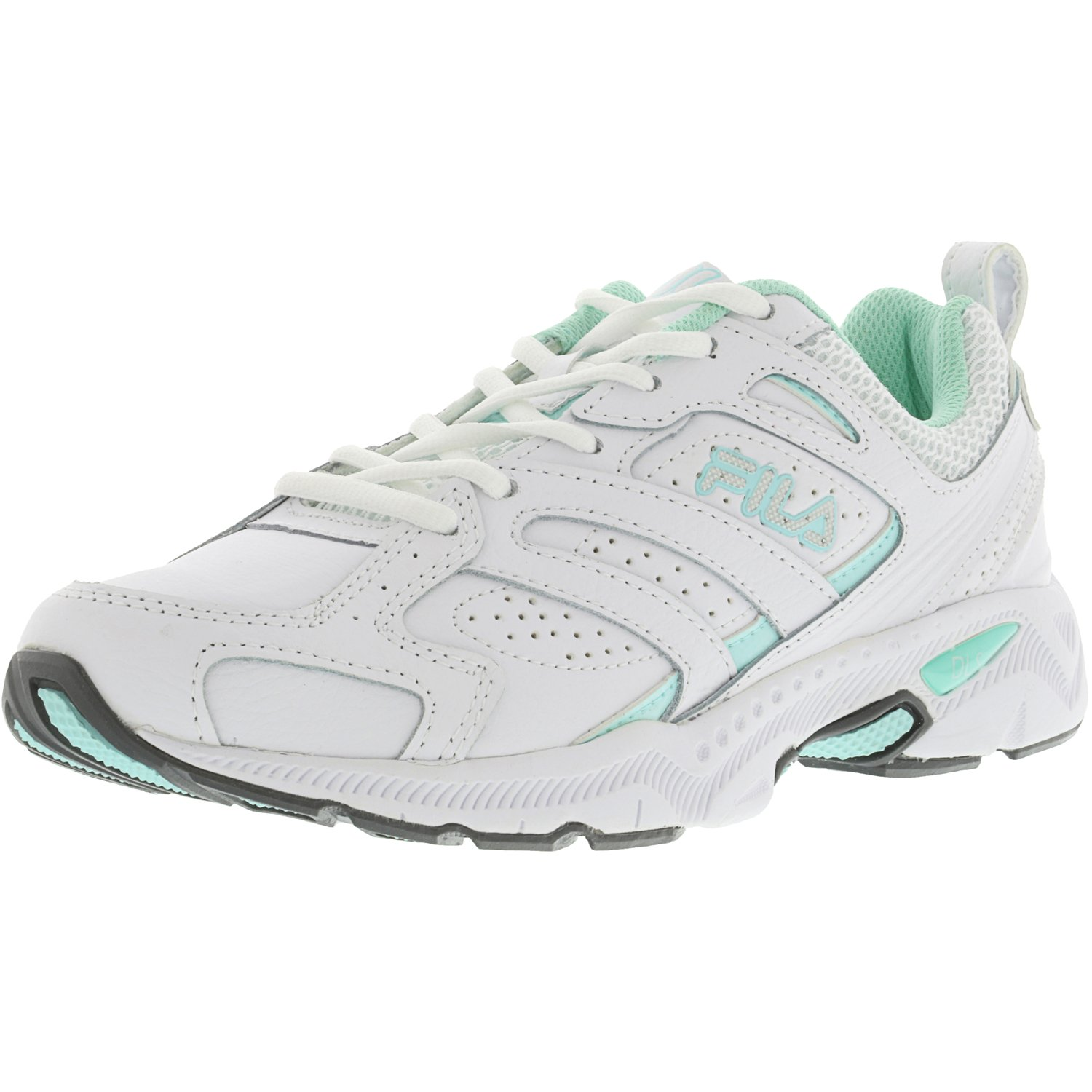 Fila Women's Capture White / Aruba Blue Metallic Silver A...