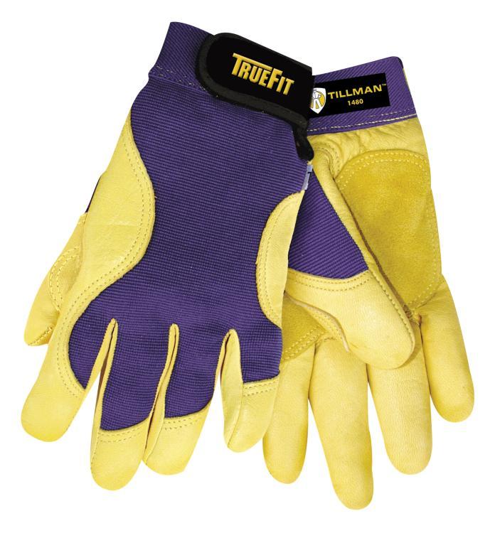 Tillman 1480 True Fit Premium Top Grain Deerskin Perform. Work Gloves, X-Large