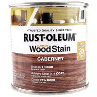 Product Image Rustoleum Cabernet Wood Stain 8 Ounce