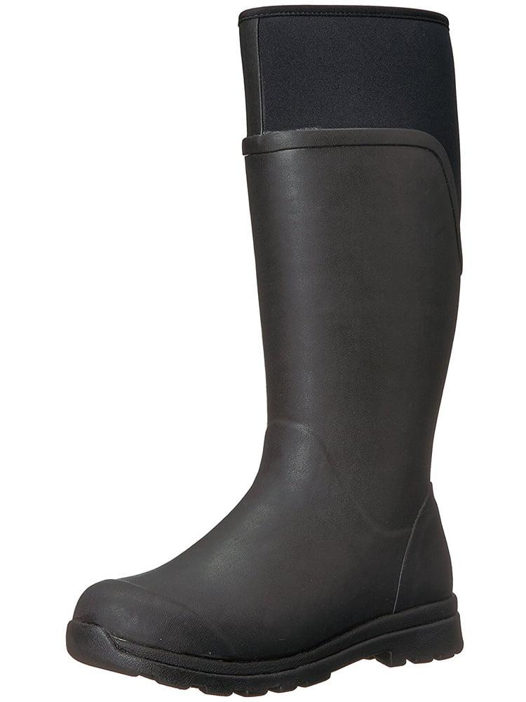 Muck Boot Women's Cambridge Tall Rain Boots Black Neoprene Rubber 7 M