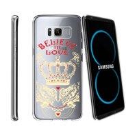 Case for Samsung Galaxy S8 Plus   Galaxy S8 Plus Transparent Silicone Case [ Flex Force ] Flexible Clear Case Unique Designs Series