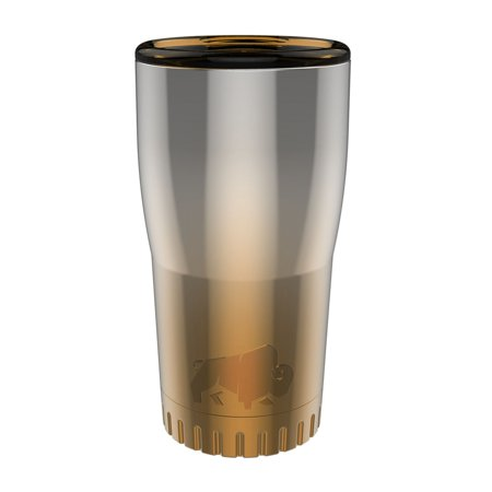 Silver Buffalo Stainless Steel Insulated Tumbler, 20 oz., Ombre (Glider Soccer Ball As Seen On Tv)