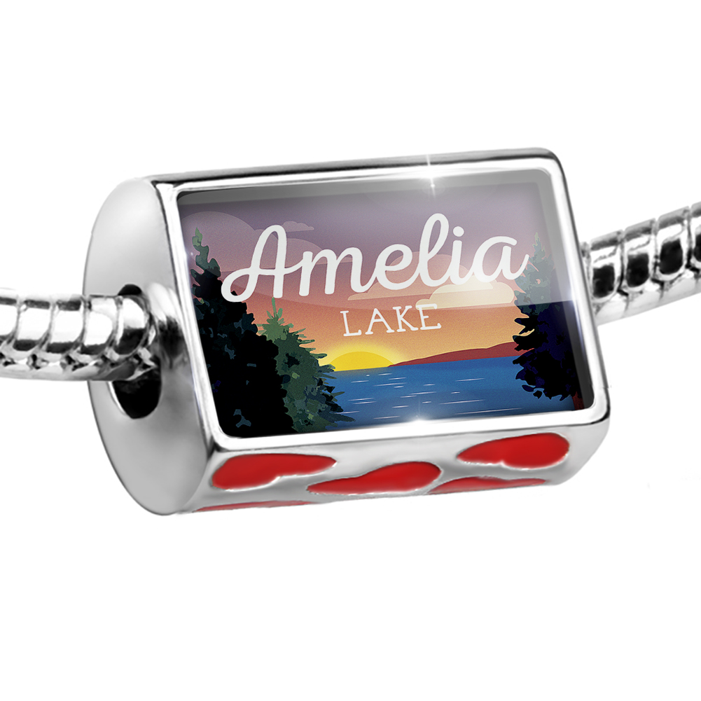 Bead Lake retro design Amelia Lake Charm Fits All European Bracelets