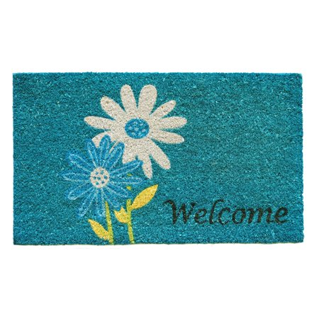 Max Door - Calloway Mills Daisy Welcome Outdoor Doormat
