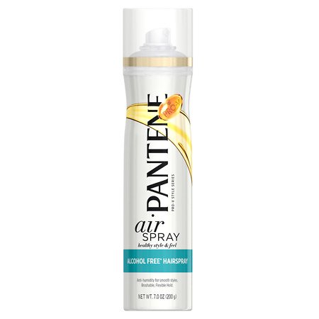 Pantene Pro-V Style Series Air Spray Alcohol Free Anti-Humidity Hairspray 7.0 oz.(pack of 2)