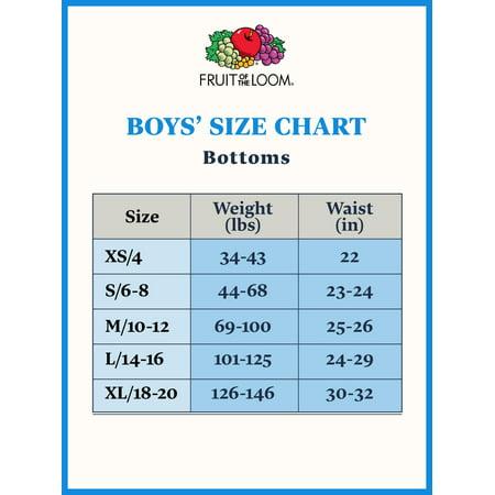 Fruit of the Loom Boys Tagfree Underwear Boxer Briefs, 5 Pack (Little Boys & Big Boys)