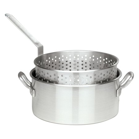 Bayou Classic Aluminum Fry Pots with Baskets