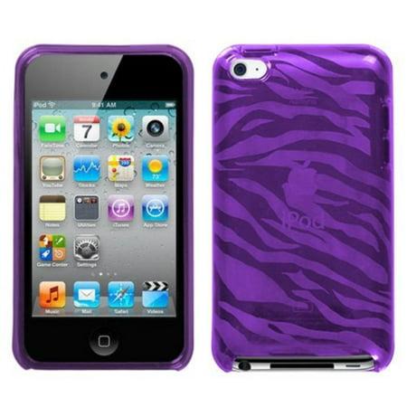 Flexi Soft Gel Skin Case for Apple iPod Touch 4th Generation - Zebra Print (Purple),WalmartPATIBLE MODELS - APPLE: iPod touch (4th generation).., By Generic,USA (Ipod Touch 4th Generation Classic)