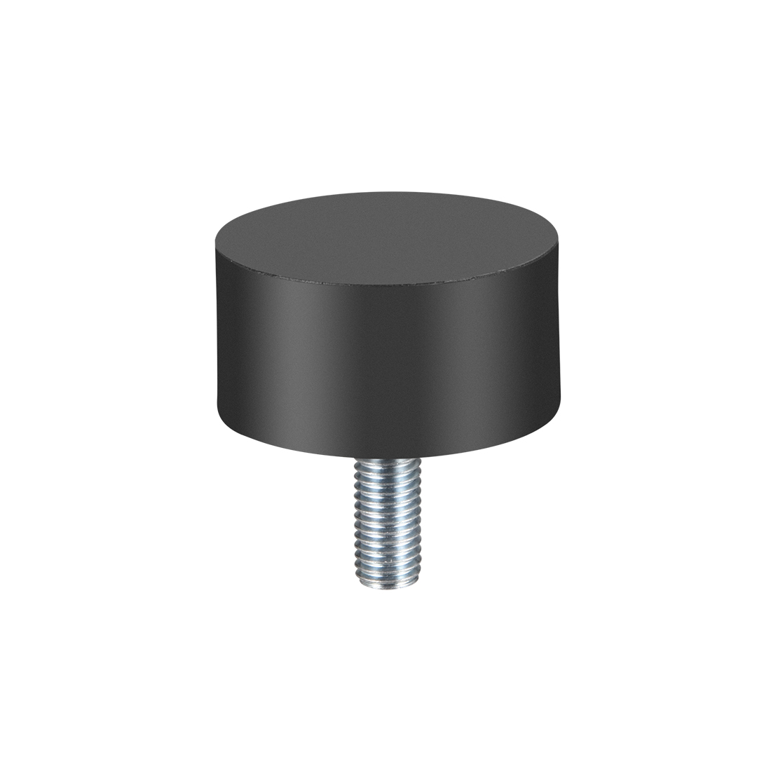 """M10 Rubber Vibration and Shock Absorption Mount w Thread Stud, 1.97"""" x0.98"""" - image 2 of 3"""