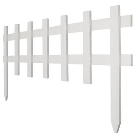 Greenes Fence RC 75W 18 in. x 3 ft. White Deluxe Cape Cod Picket Fence - image 1 of 1