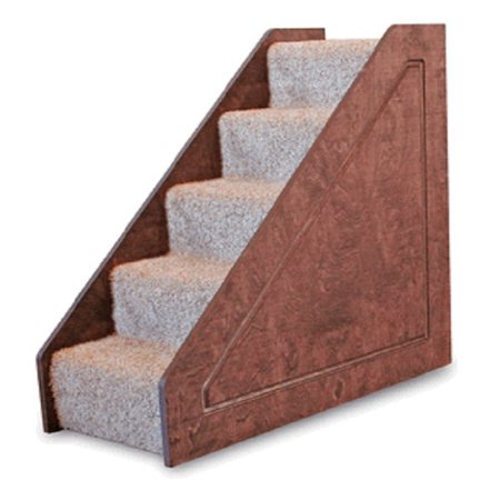 Lucky Cat Small Solid Side 5 Step Pet Stair