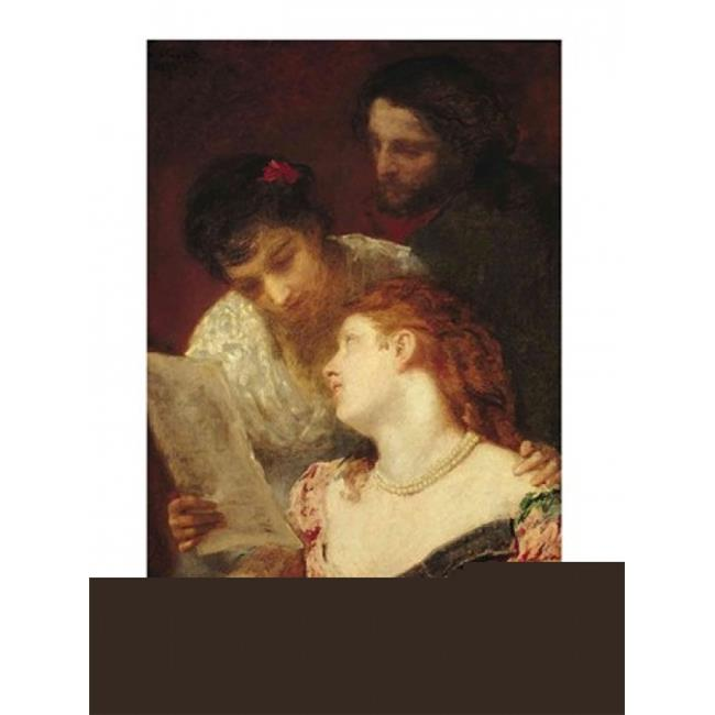Musical Party 1874 Poster Print by Mary Cassatt - 24 x 36 in. - Large - image 1 de 1