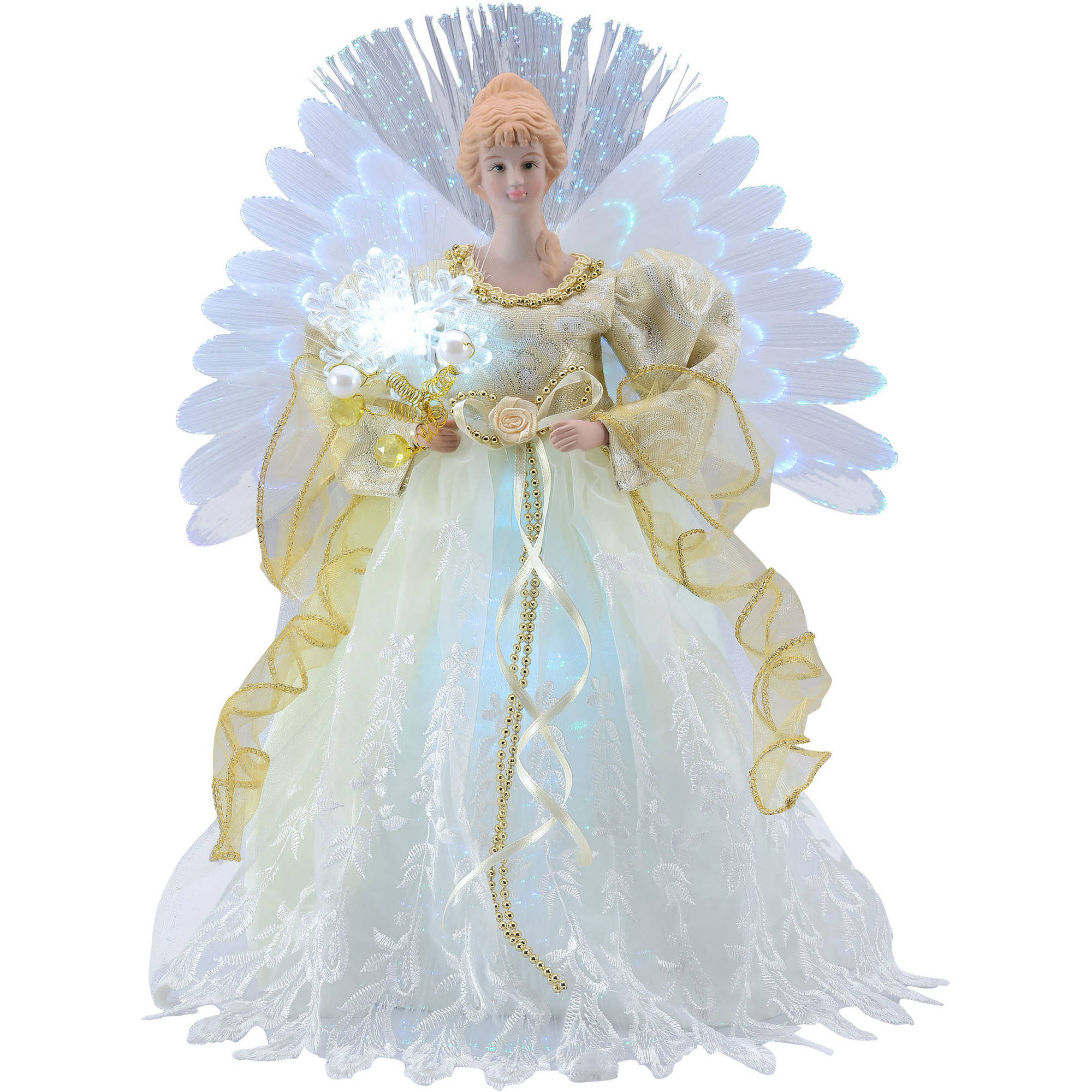 Holiday Time Ivory Angel LED Table Topper
