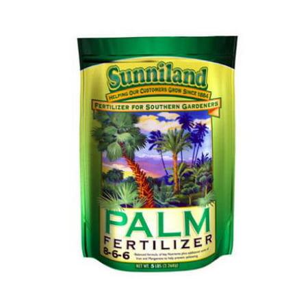 Sunniland 20lb Palm Fertilizer 6-1-8 (Best Fertilizer For Sago Palms)
