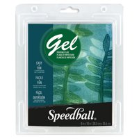 Speedball Gel Printing Plates, Single Plates, 8in x 10in