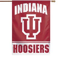 "Indiana Hoosiers WinCraft 28"" x 40"" Primary Logo Single-Sided Vertical Banner - No Size"