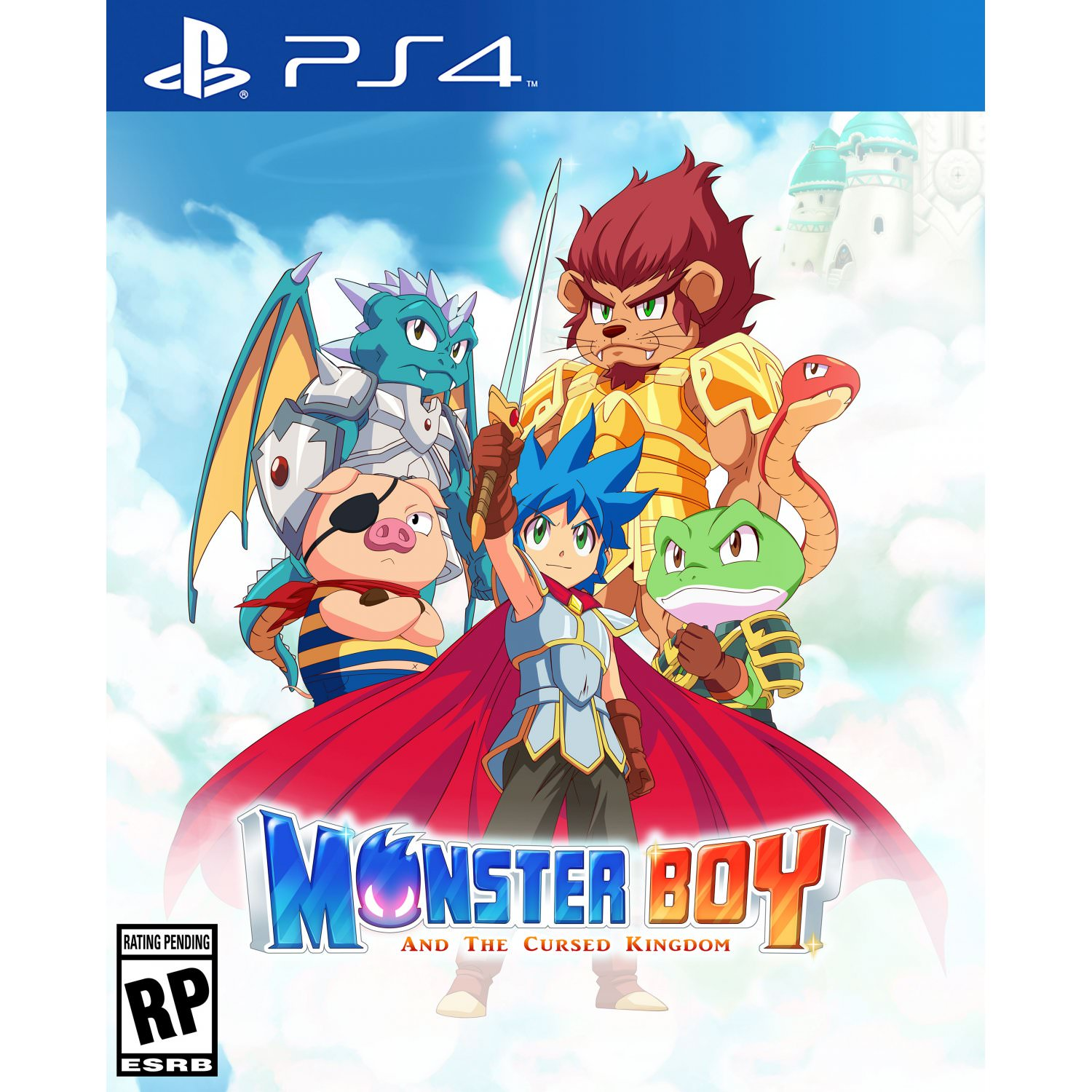 Monster Boy and the Cursed Kingdom, FDG Entertainment, PlayStation 4, 810893030011